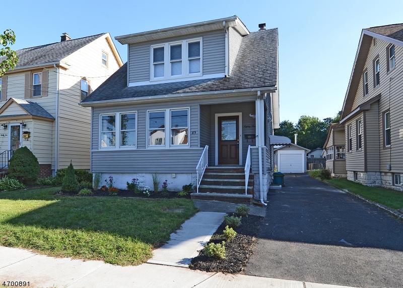 Частный односемейный дом для того Аренда на 89 Continental Avenue Belleville, Нью-Джерси 07109 Соединенные Штаты