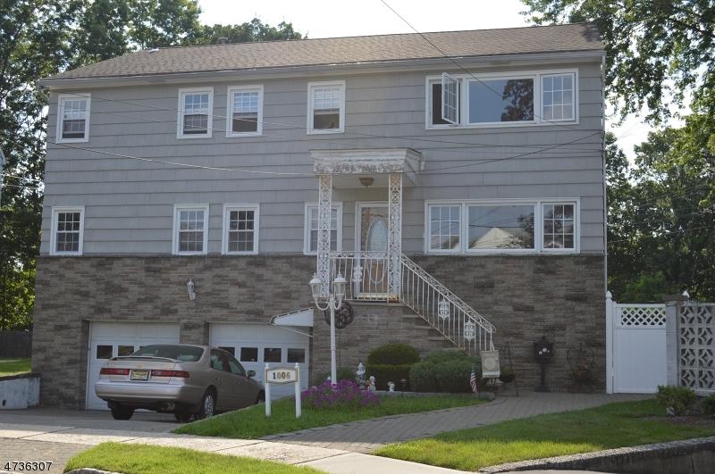 Maison unifamiliale pour l à louer à 1006 Gifford Court Union, New Jersey 07083 États-Unis