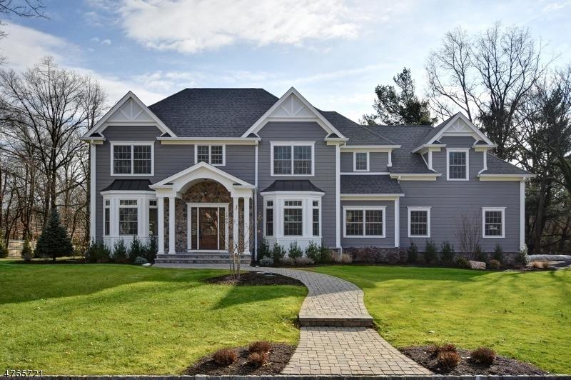 Частный односемейный дом для того Продажа на 1896 N Gate Road 1896 N Gate Road Scotch Plains, Нью-Джерси 07076 Соединенные Штаты