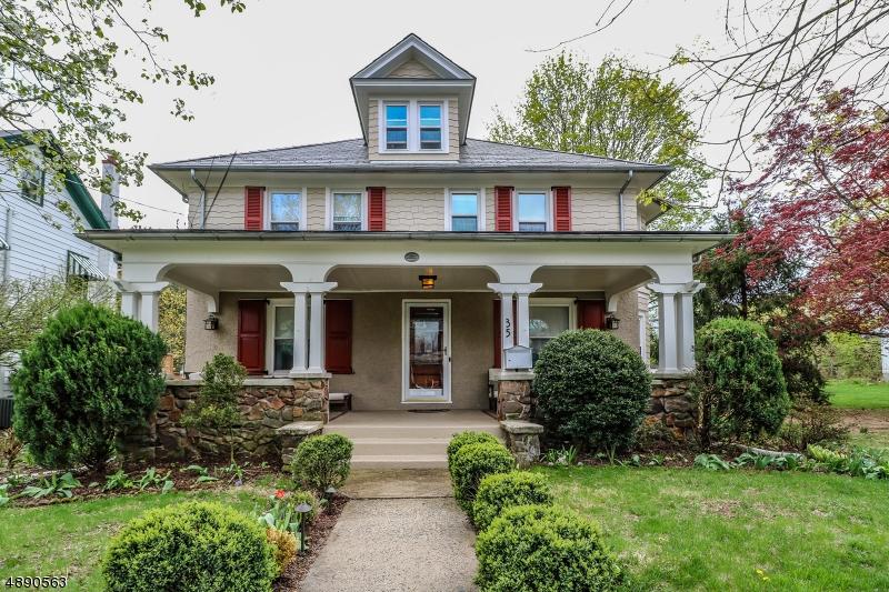 Частный односемейный дом для того Продажа на 35 MAPLE Avenue Flemington, Нью-Джерси 08822 Соединенные Штаты