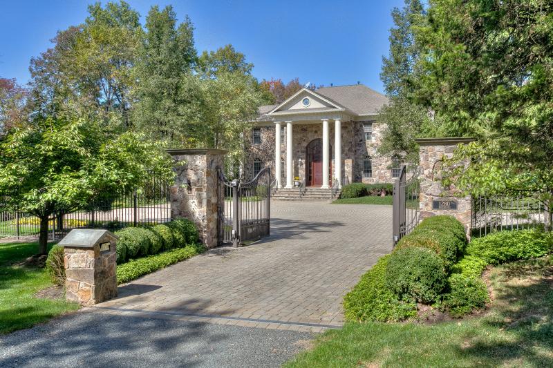 獨棟家庭住宅 為 出售 在 1280 Rattlesnake Bridge Road Bedminster, 新澤西州 07921 美國