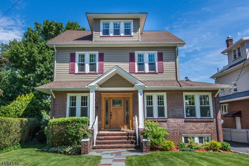 Частный односемейный дом для того Продажа на 110 Elm Place Nutley, 07110 Соединенные Штаты