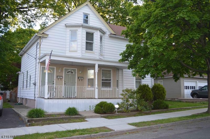 Casa Unifamiliar por un Alquiler en 14 Post Street Haledon, Nueva Jersey 07508 Estados Unidos