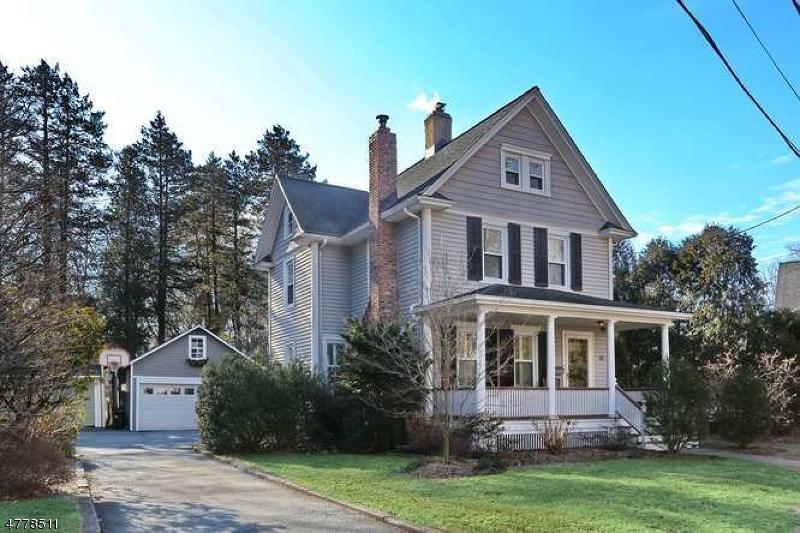 Частный односемейный дом для того Продажа на 5 FERGUSON Place Glen Rock, Нью-Джерси 07452 Соединенные Штаты