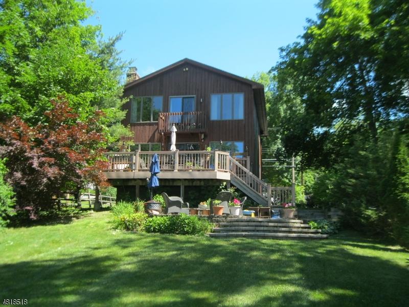 Einfamilienhaus für Verkauf beim 140 LOWER NORTH SHORE Road Frankford Township, New Jersey 07826 Vereinigte Staaten