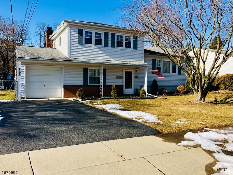 Частный односемейный дом для того Продажа на 123 DEERFIELD Drive Hackettstown, Нью-Джерси 07840 Соединенные Штаты