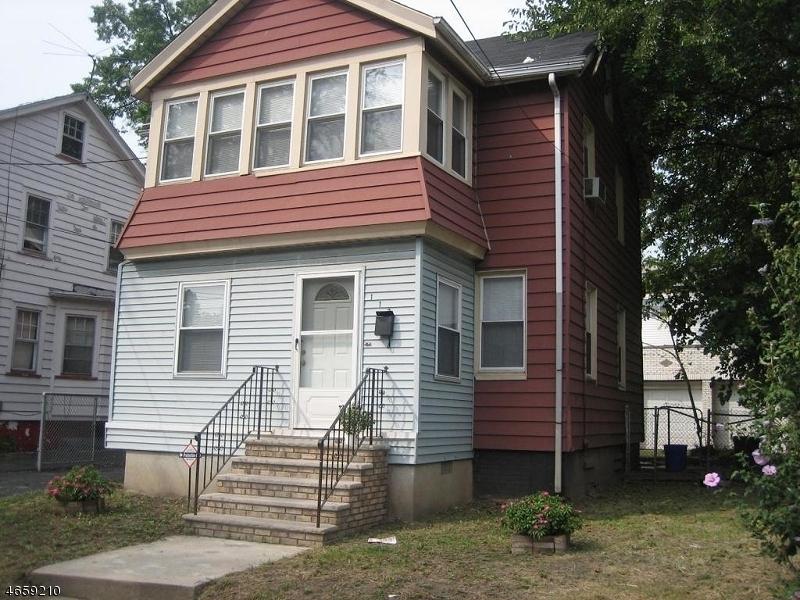 Maison unifamiliale pour l Vente à 113 Columbia Avenue Newark, New Jersey 07106 États-Unis