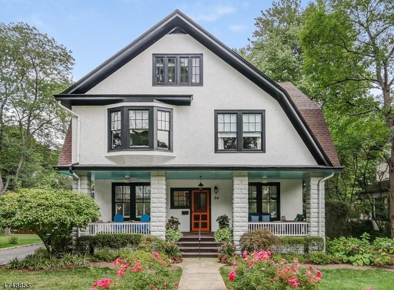 独户住宅 为 销售 在 84 Maplewood Avenue Maplewood, 新泽西州 07040 美国