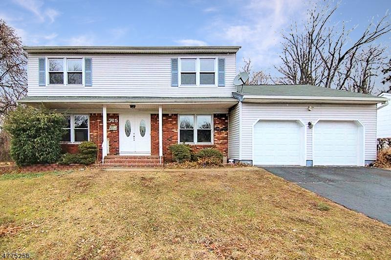 一戸建て のために 売買 アット 765 Kaminski Drive 765 Kaminski Drive Rahway, ニュージャージー 07065 アメリカ合衆国
