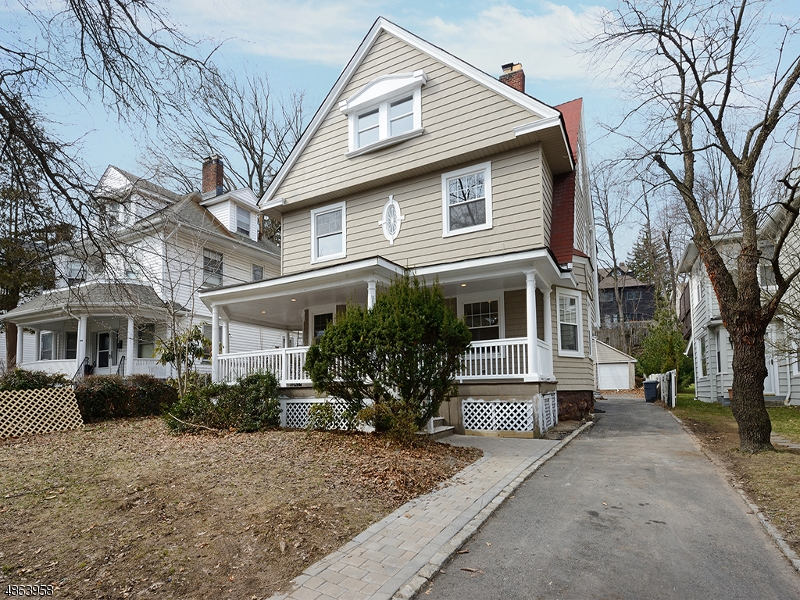Single Family Home for Sale at 37 GATES AVE 37 GATES AVE Montclair, New Jersey 07042 United States