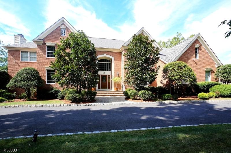 Maison unifamiliale pour l Vente à 60 Knightsbridge Watchung, New Jersey 07069 États-Unis