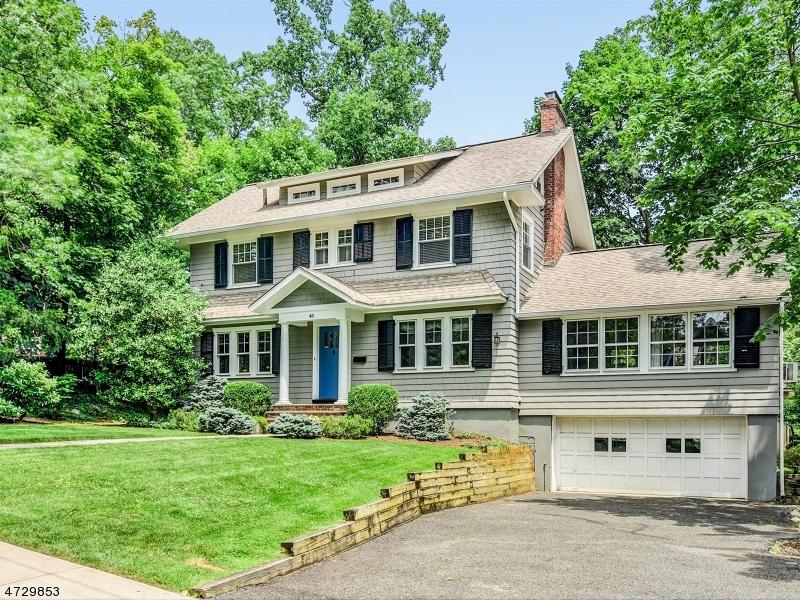 Частный односемейный дом для того Продажа на 41 Roosevelt Road Maplewood, Нью-Джерси 07040 Соединенные Штаты