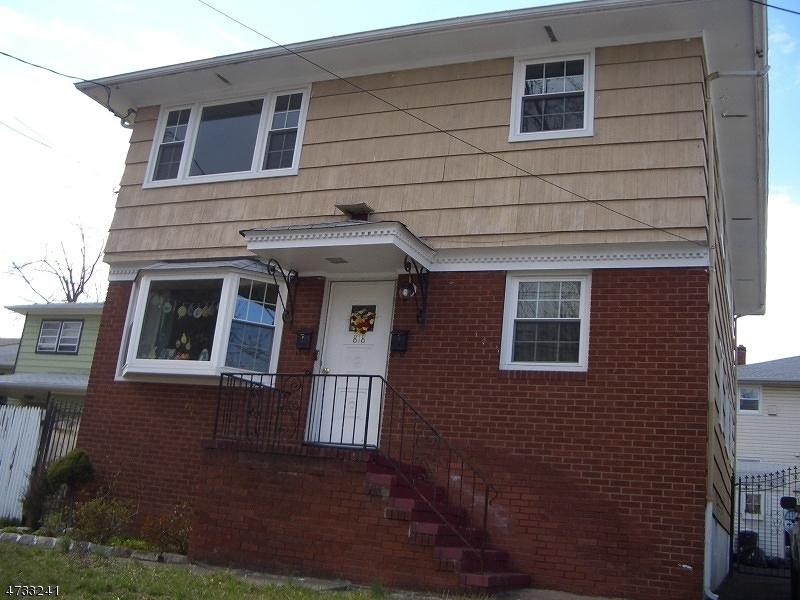 独户住宅 为 出租 在 818 Amsterdam Avenue 罗塞尔, 新泽西州 07203 美国