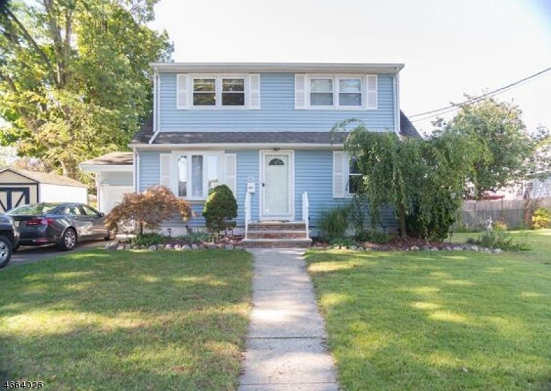 Частный односемейный дом для того Продажа на 145 S 25th Street Kenilworth, Нью-Джерси 07033 Соединенные Штаты