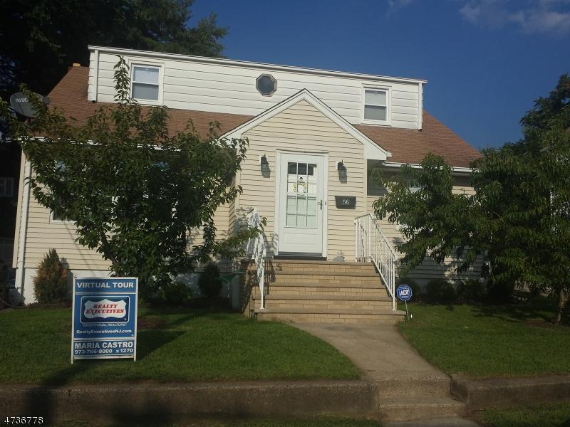 Частный односемейный дом для того Продажа на 56 Scudder Street Garfield, Нью-Джерси 07026 Соединенные Штаты