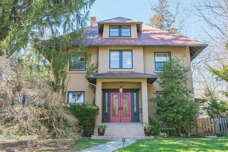 Частный односемейный дом для того Продажа на 95 Maplewood Avenue Maplewood, 07040 Соединенные Штаты