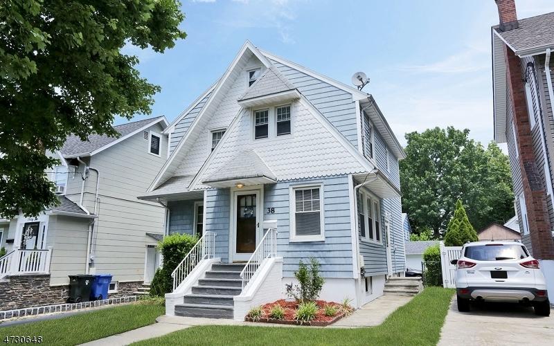 独户住宅 为 销售 在 38 Monona Avenue Rutherford, 新泽西州 07070 美国