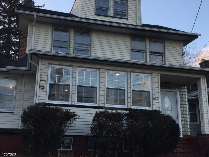 Vivienda multifamiliar por un Venta en 447 Stuyvesant Avenue Irvington, Nueva Jersey 07111 Estados Unidos