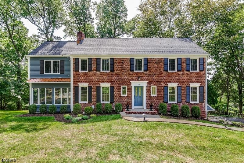 独户住宅 为 销售 在 26 Nicholson Drive 查塔姆, 新泽西州 07928 美国