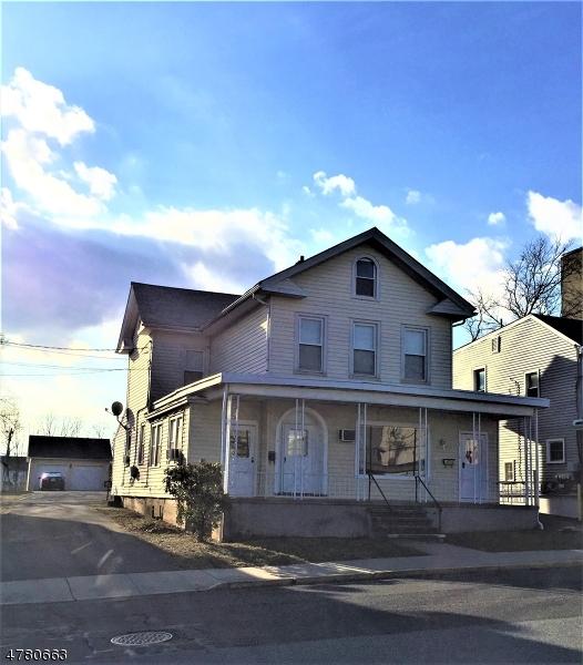 Casa Multifamiliar por un Venta en 17 Broad Street Washington, Nueva Jersey 07882 Estados Unidos