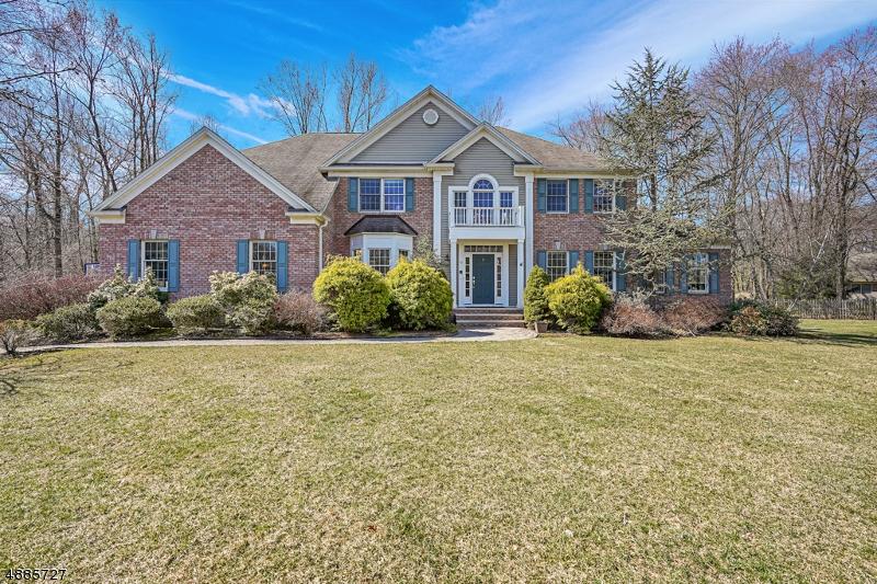 Частный односемейный дом для того Продажа на 30 ELLIOTT Road Long Hill, Нью-Джерси 07946 Соединенные Штаты