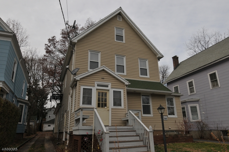 Single Family Home for Rent at 160 Ashland Avenue Bloomfield, New Jersey 07003 United States