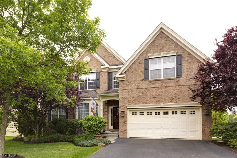 Enfamiljshus för Försäljning vid 25 Crestview Drive Clinton, New Jersey 08809 Usa