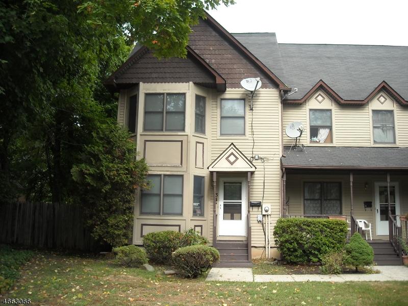 Частный односемейный дом для того Аренда на 34A WASHINGTON Avenue Plainfield, 07060 Соединенные Штаты