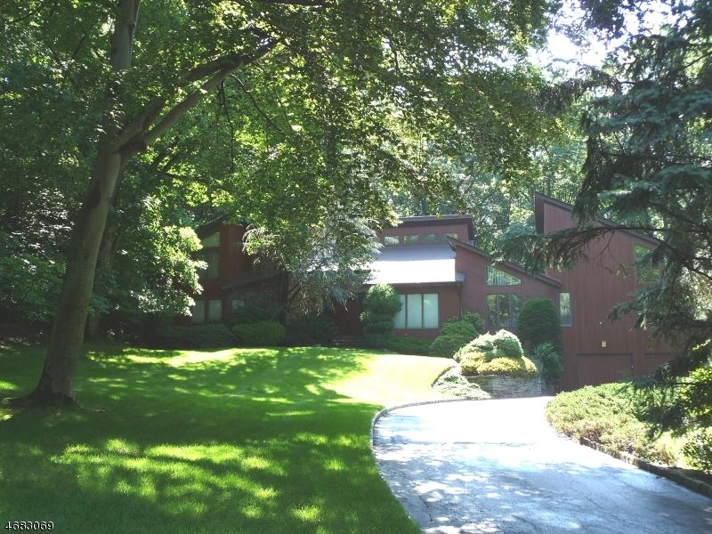 Частный односемейный дом для того Аренда на 11 Timber Ridge Drive Warren, Нью-Джерси 07059 Соединенные Штаты