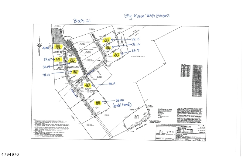 Land for Sale at Amelia Way Pittstown, New Jersey 08867 United States