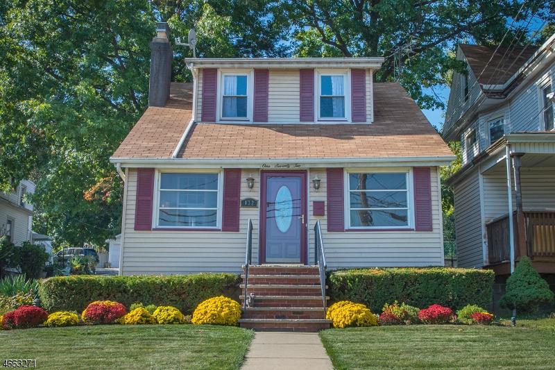 Частный односемейный дом для того Продажа на 172 BERKELEY Avenue Bloomfield, Нью-Джерси 07003 Соединенные Штаты