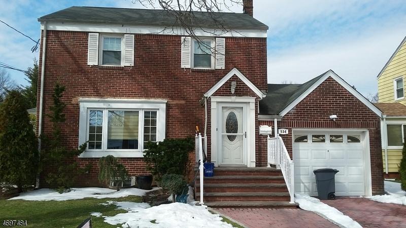 独户住宅 为 出租 在 934 Sterner Road Hillside, 新泽西州 07205 美国