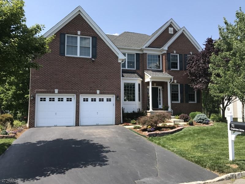 独户住宅 为 销售 在 71 Crestview Drive 克林顿, 新泽西州 08809 美国