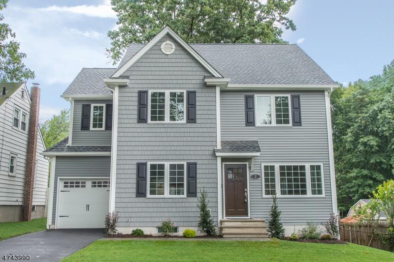 Частный односемейный дом для того Продажа на 2 Vail Street Nutley, 07110 Соединенные Штаты