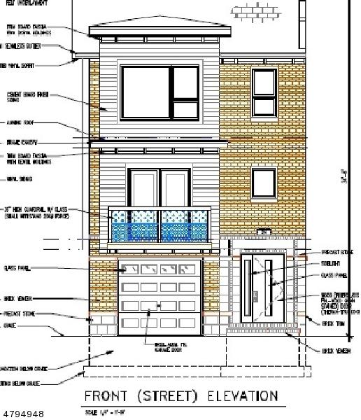 Многосемейный дом для того Продажа на 96 Elm Road Newark, Нью-Джерси 07105 Соединенные Штаты