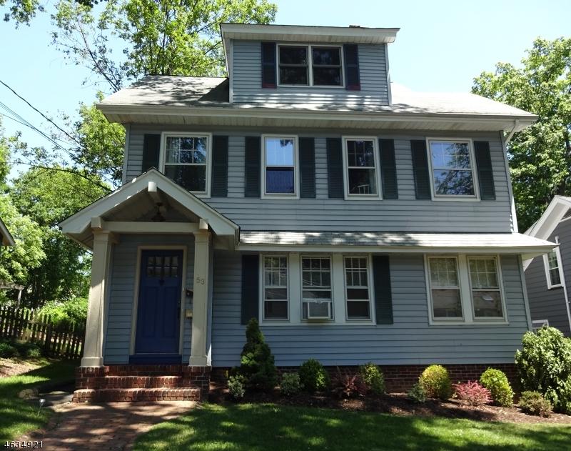 独户住宅 为 出租 在 53 Maple Street 米尔本, 07041 美国