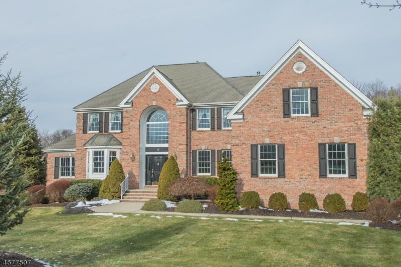 独户住宅 为 销售 在 18 Saint Andrews Court Flanders, 新泽西州 07836 美国