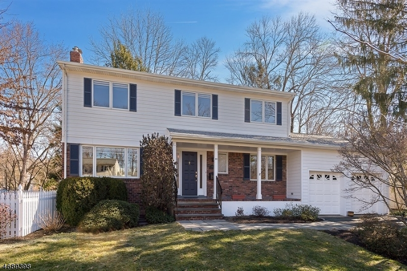 Частный односемейный дом для того Продажа на 60 Woodcrest Drive New Providence, Нью-Джерси 07974 Соединенные Штаты