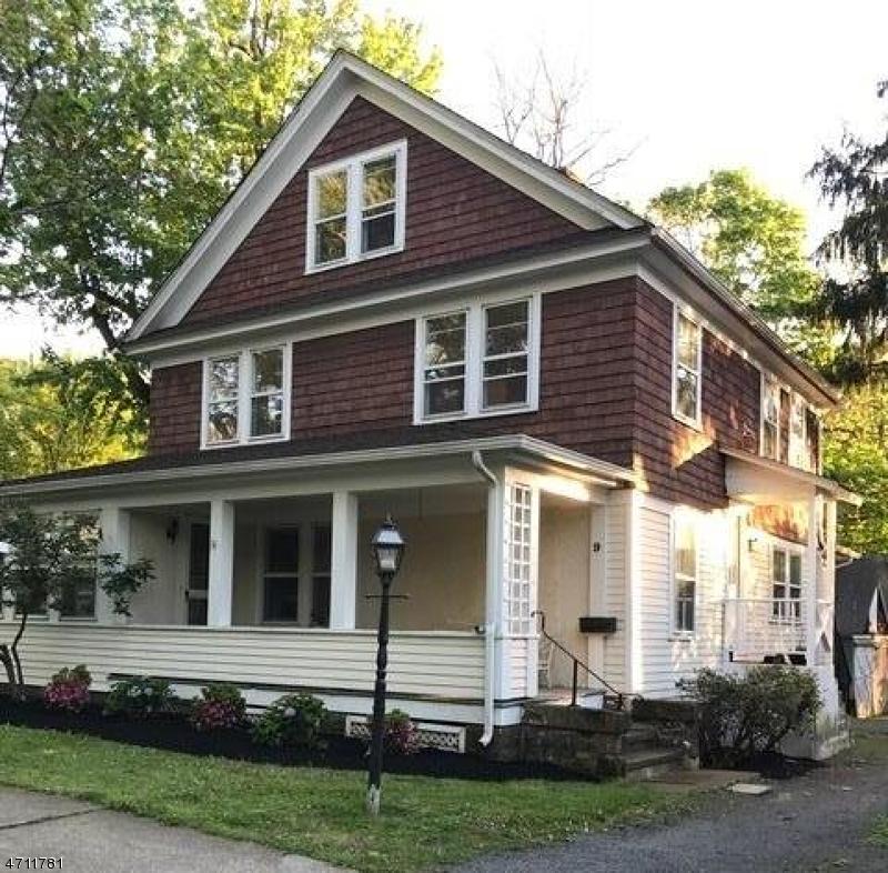Частный односемейный дом для того Аренда на 9 NEW Street Mendham, Нью-Джерси 07945 Соединенные Штаты