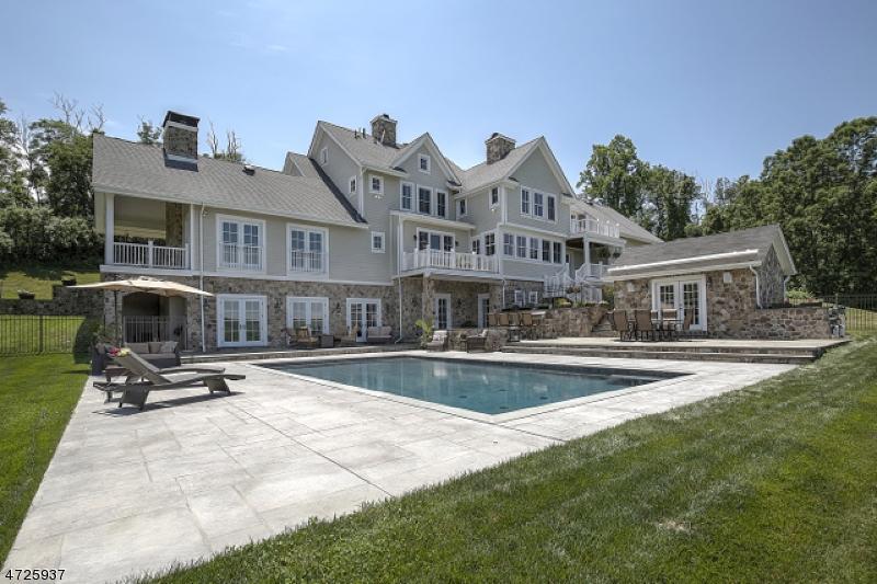 Частный односемейный дом для того Продажа на 12 Halsey Farm Road Tewksbury Township, 08833 Соединенные Штаты