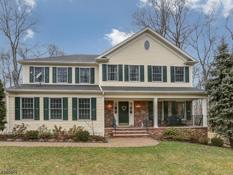 独户住宅 为 销售 在 26 Rose Ter 查塔姆, 新泽西州 07928 美国