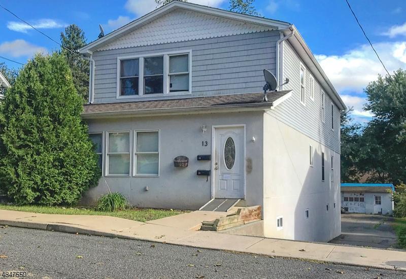 Flerfamiljshus för Försäljning vid 13 CORNISH Street Washington, New Jersey 07882 Förenta staterna