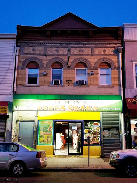Commercial for Sale at 74 Market Street Passaic, New Jersey 07055 United States