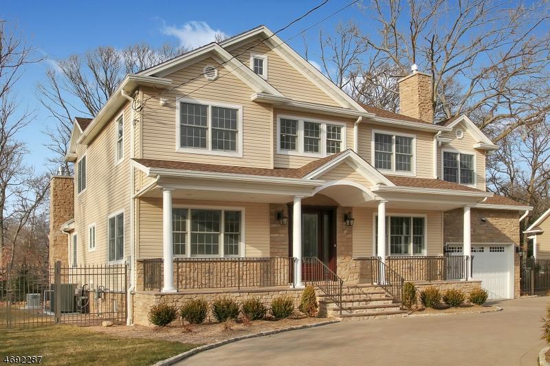 Частный односемейный дом для того Продажа на 173 Franklin Avenue Wyckoff, Нью-Джерси 07481 Соединенные Штаты