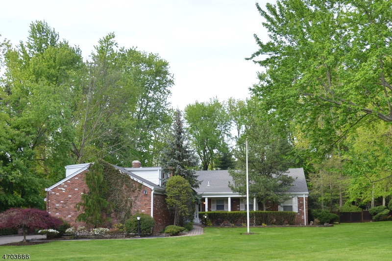 Частный односемейный дом для того Продажа на 12 Pine Road Roseland, Нью-Джерси 07068 Соединенные Штаты