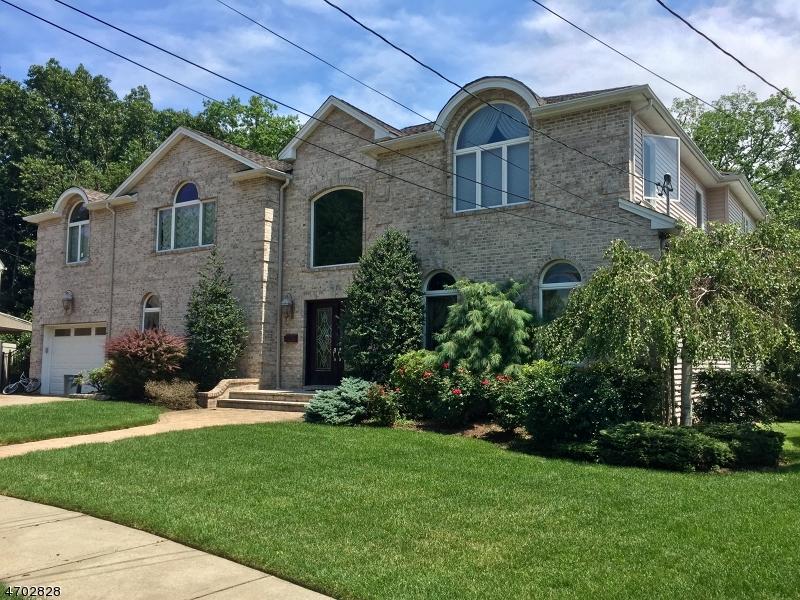 Частный односемейный дом для того Продажа на 80 Howard Place Nutley, Нью-Джерси 07110 Соединенные Штаты