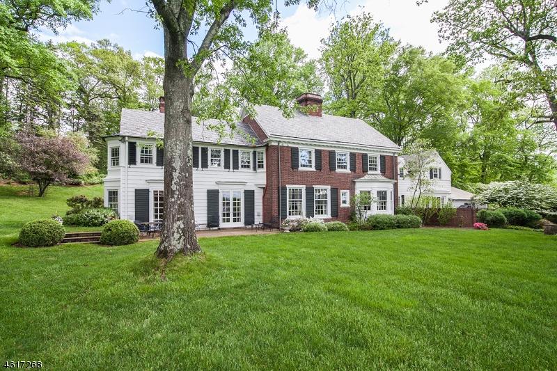 独户住宅 为 销售 在 36 Van Beuren Road 莫里斯敦, 07960 美国