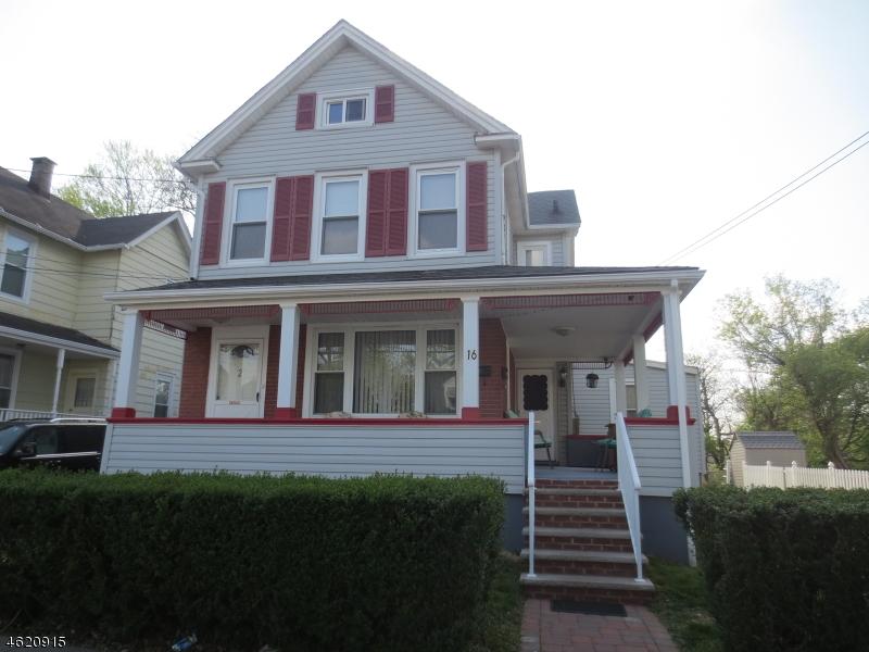 Casa Multifamiliar por un Venta en 16 S Gaston Avenue Somerville, Nueva Jersey 08876 Estados Unidos