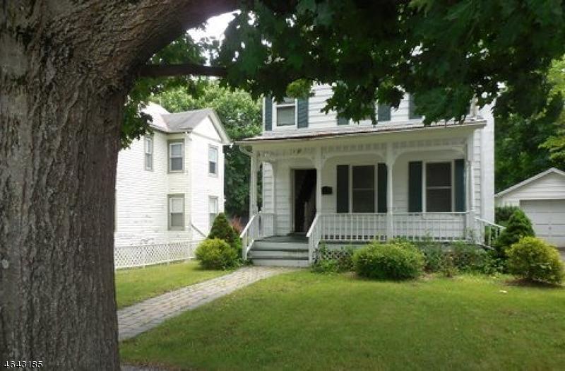 Maison unifamiliale pour l Vente à 33 Woodside Avenue Newton, New Jersey 07860 États-Unis