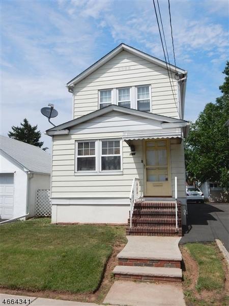 Casa Unifamiliar por un Venta en 356 DeWitt Street Linden, Nueva Jersey 07036 Estados Unidos
